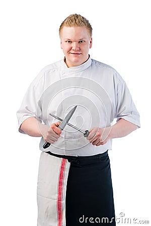Cook sharpening