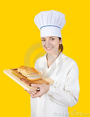 Cook with  slice bread