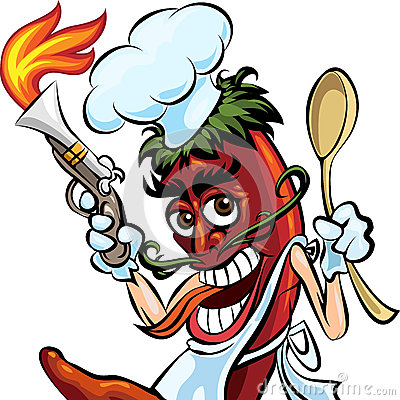 Free Cook The Pepper Royalty Free Stock Photos - 41471478