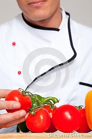 Cook tomatoe