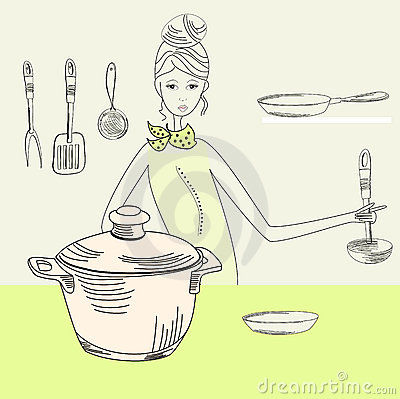 Cook woman