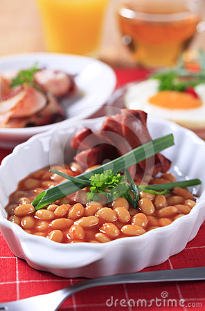 Cooked breakfast or brunch