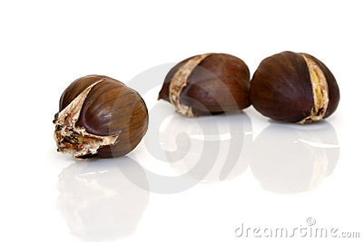 Cooked chestnut
