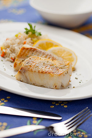 Free Cooked Cod Fish Stock Photos - 20913663