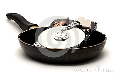 Cooked Hard Drive