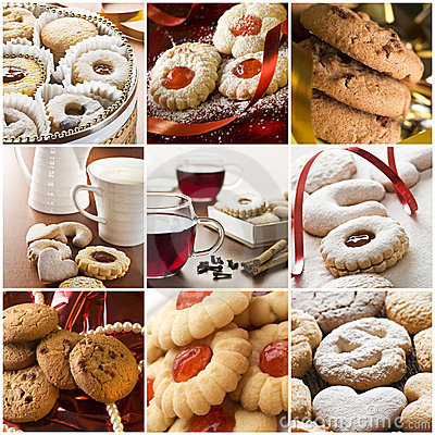 Free Cookie Collage Stock Photo - 12139140