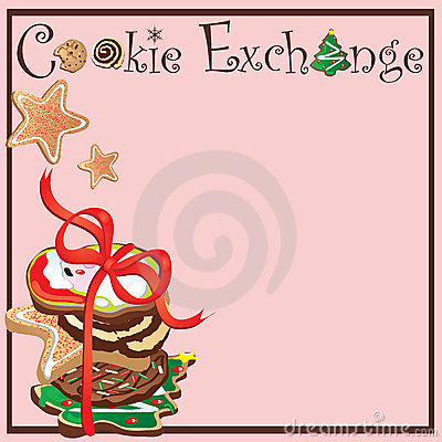 Cookie Exchange Party Royalty Free Stock Image - Image: 11821716