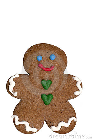 Free Cookie - Gingerbread Man Royalty Free Stock Photos - 520038
