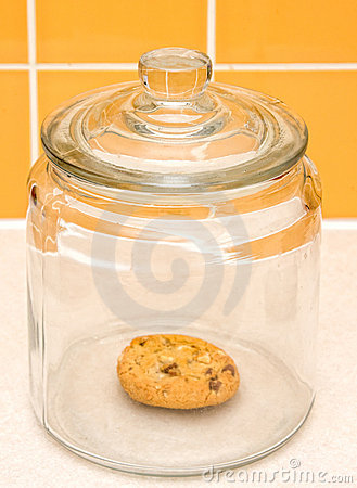 Free Cookie Jar Royalty Free Stock Photo - 9118965