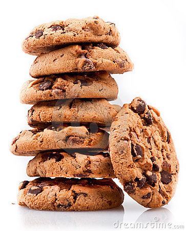 Free Cookie Tower Royalty Free Stock Photography - 22950967