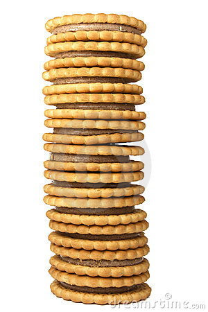 Free Cookie Tower Stock Image - 8765271