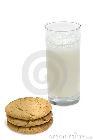 Free Cookies And Milk Royalty Free Stock Photos - 2933608