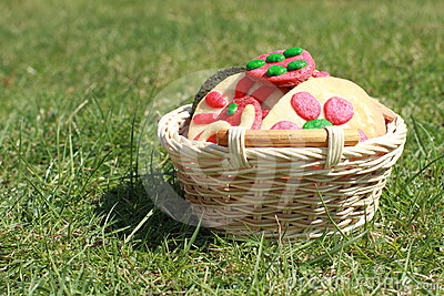 Cookies in a basket