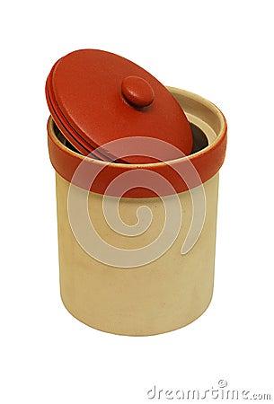 Cookies ceramic jar