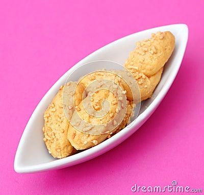 Cookies com queijo