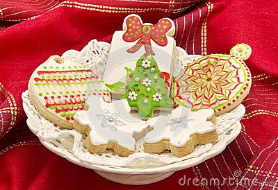 Cookies decorated