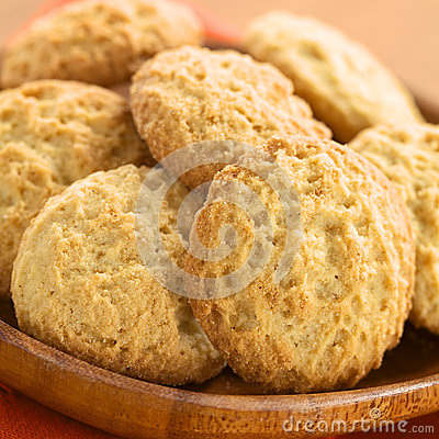 Free Cookies Made With Maca Powder Stock Photography - 52025932