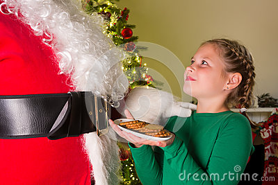 Cookies for santa claus