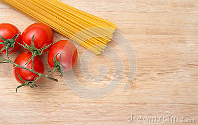 Cooking background spaghetti