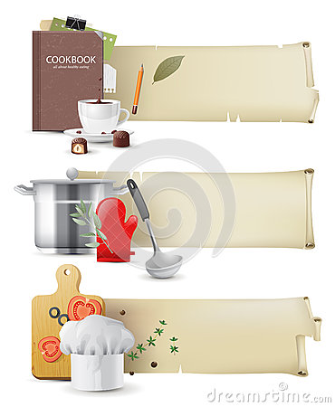 Cooking banners