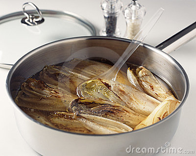 Cooking the chicory
