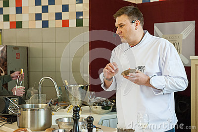 Cooking class Editorial Image