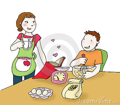 Cooking Couple Stock Images Image 12405784