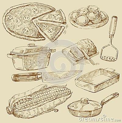 Cooking doodles