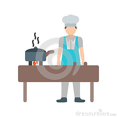 Cooking Food Vector Illustration