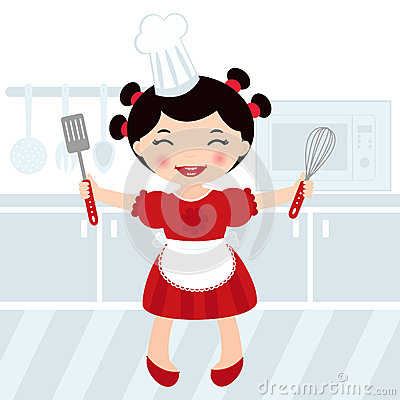Cooking girl
