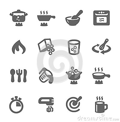 Free Cooking Icons Stock Photos - 38146903