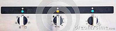 Cooking Oven Control Panel II