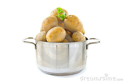 Cooking potatoes