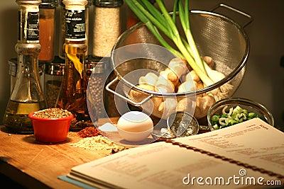 Cooking Recipe ingredients
