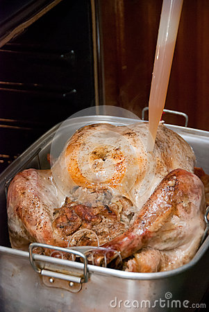 Cooking a Thanksgiving Turkey