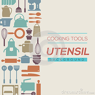 Free Cooking Tools And Utensil Background. Royalty Free Stock Photos - 57425588