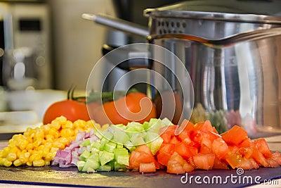 Cooking vegetables