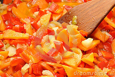 Cooking vegetables for stew