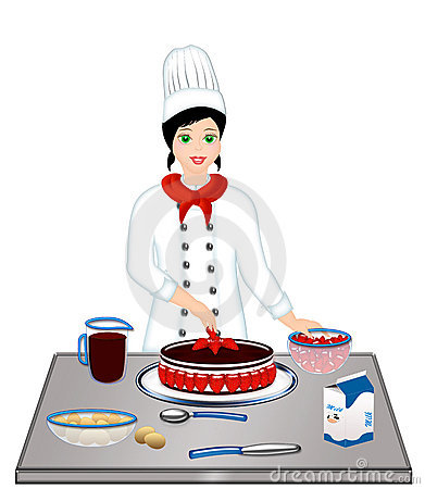 Cooking Woman Chef Royalty Free Stock Photos - Image: 11135368
