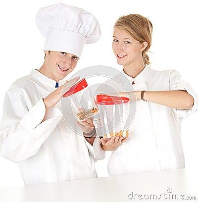 Cooks team, series