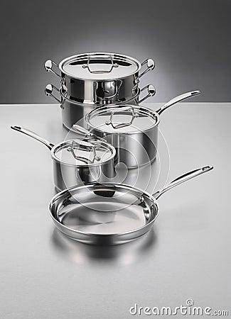 Cookware do aço inoxidável