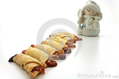 Cooky, snowmen