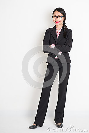 Free Cool Asian Business Woman Royalty Free Stock Photos - 47979358