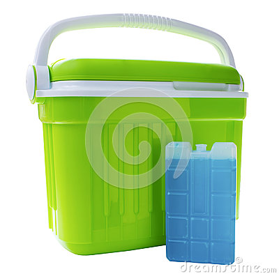 Free Cool Box And Ice Block Stock Images - 73485734