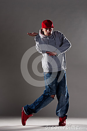 Cool breakdancer