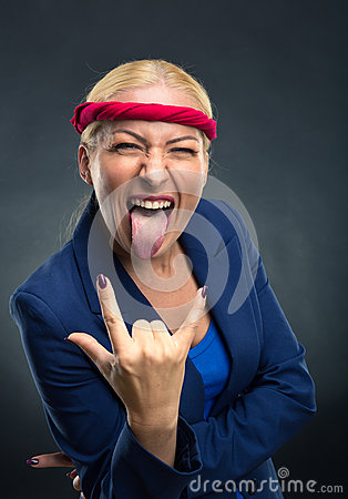 Free Cool Businesswoman Royalty Free Stock Photography - 62305377