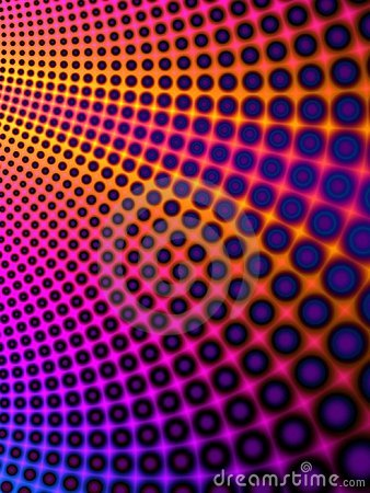 Cool Colorful Circles Pattern