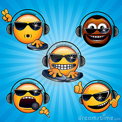 Free Cool Deejay 1 Royalty Free Stock Image - 21320946