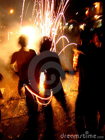 Free Cool Fireworks Stock Images - 1430634