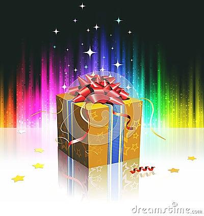 Cool gift box